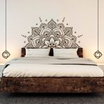 30 vintage bedroom wall decals design ideas to try