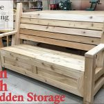 31 how to build garden bench with a hidden storage compartment