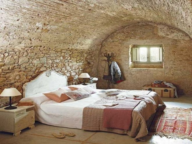 32 extremely beautiful stone wall bedrooms that will take