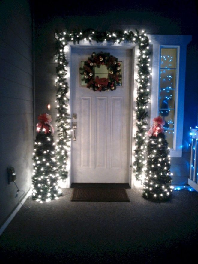 34 best front porch winter ideas on budget porch christmas
