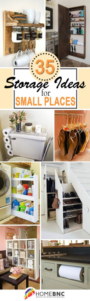 35 best storage ideas and projects for small spaces in 2019