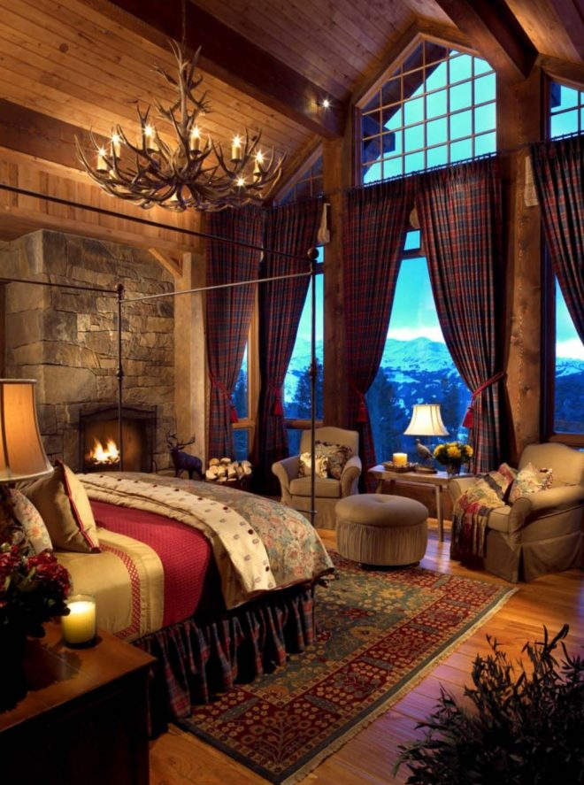 35 gorgeous log cabin style bedrooms to make you drool log homes