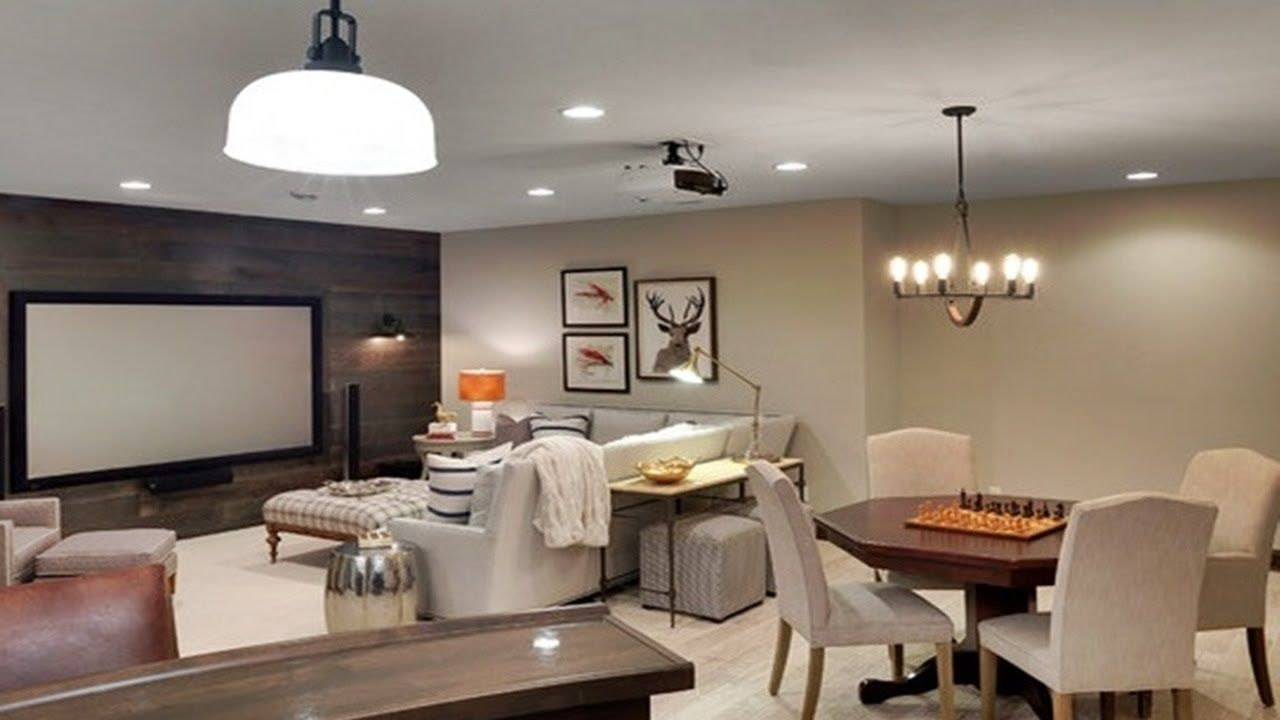 35 Small Basement Decorating Ideas Family Room On A
