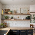 37 inspiring diy small kitchen open shelves decor ideas