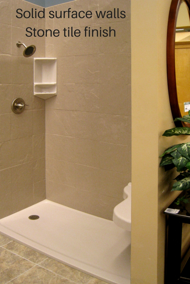 4 design options in grout free diy shower tub wall panels shower