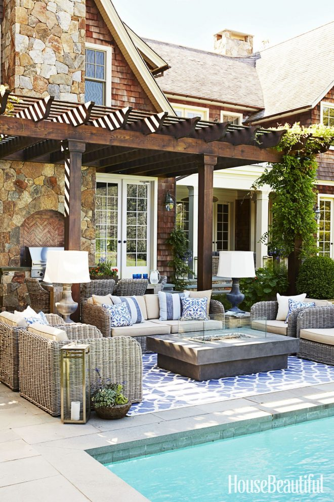 4 indoor decorating moves to take outside outdoor pergola
