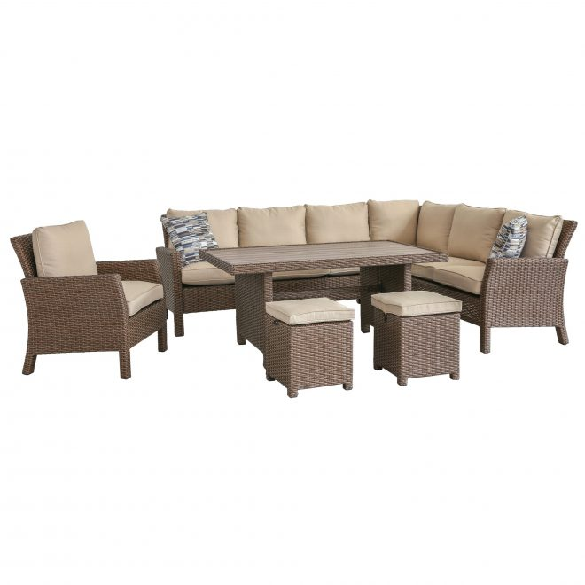 4 piece outdoor patio furniture set arcadia