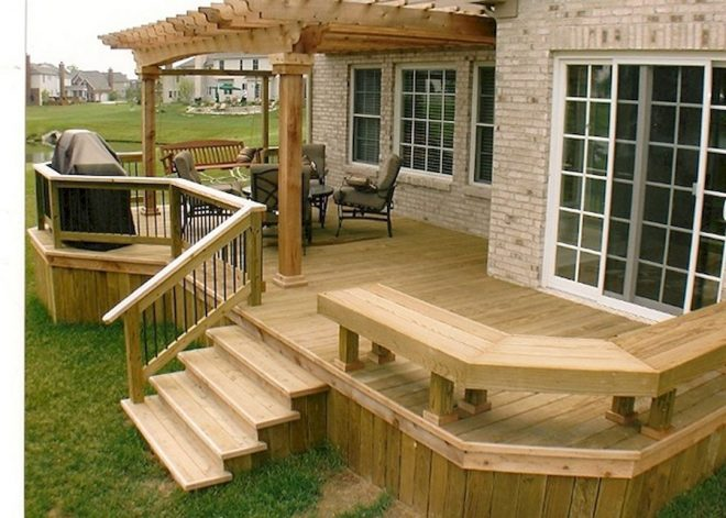 4 tips to start building a backyard deck small patio