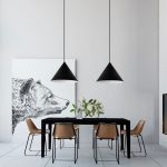 40 minimalist dining rooms to leave you hungry for style dining
