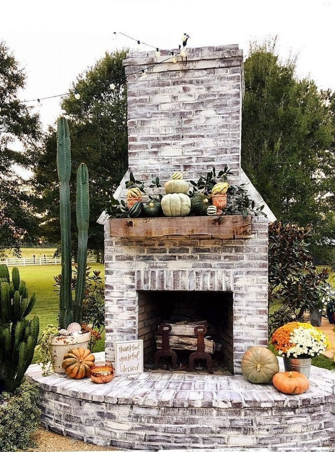 40 rustic outdoor fireplace design ideas to try asap have
