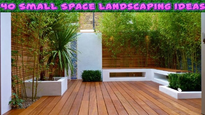 40 small space landscaping ideas youtube