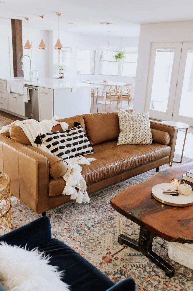 42 home decor ideas living room decor brown couch living