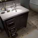 42 inch bathroom vanity with offset sink saving to show how