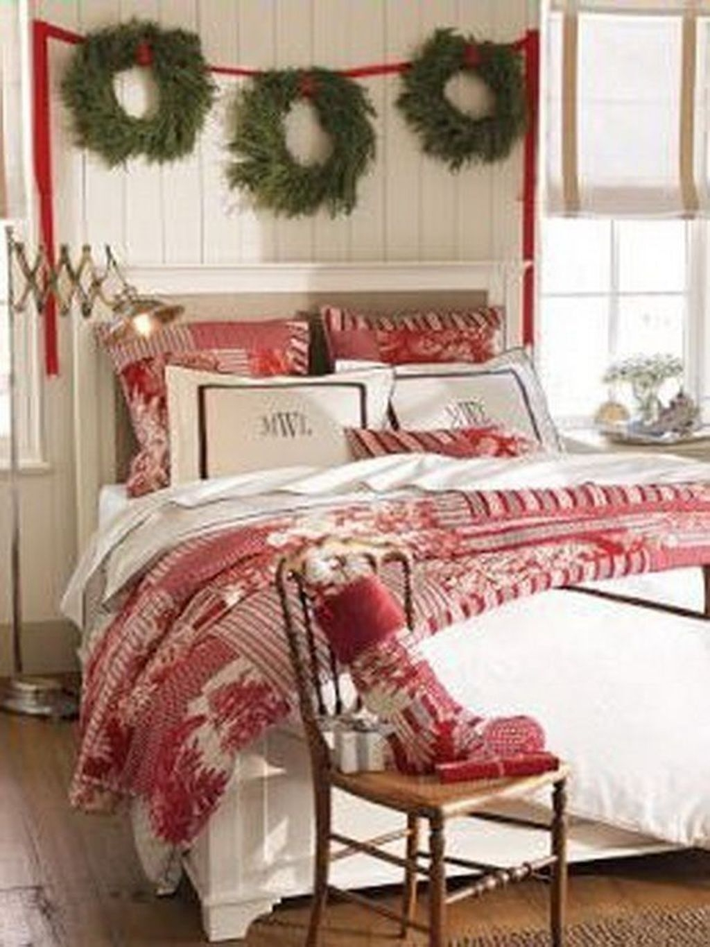 44 romantic christmas bedroom decoration ideas you will love