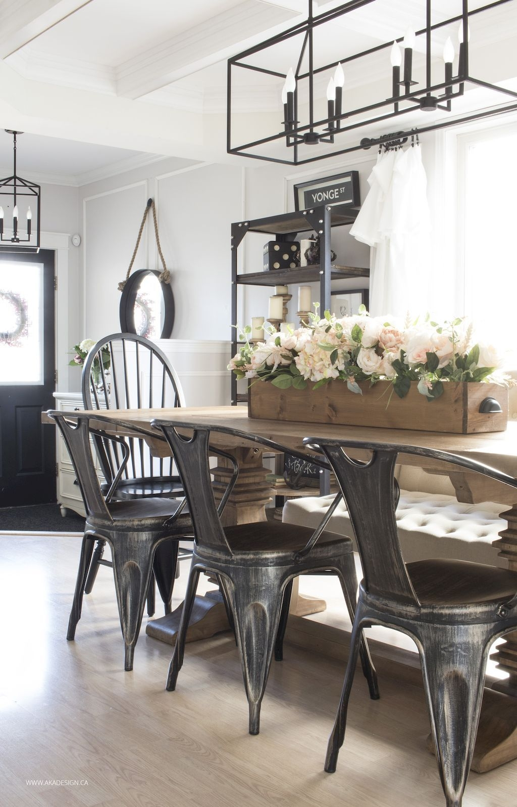45 modern farmhouse dining room decorating ideas in 2018 home