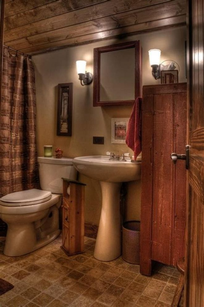 46 best country bathroom design and decorating ideas 2019 42