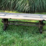 48 rustic garden bench japanese joinery inspired artisan rustic collection