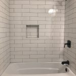4x16 white subway tile from home depot charcoal prism