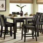 5 pc faux marble counter height dining table set f2542 savvy