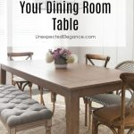 5 ways to update your dining room table unexpected elegance