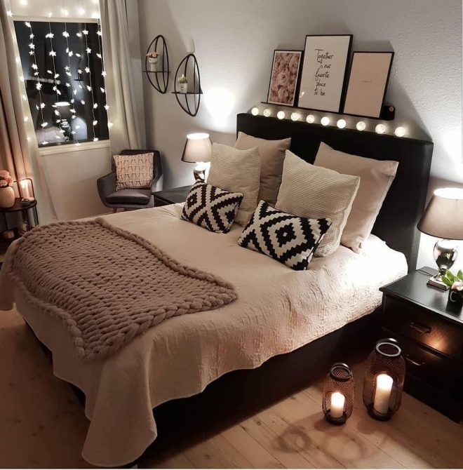 52 warm and romantic bedroom bed decoration ideas 52 warm