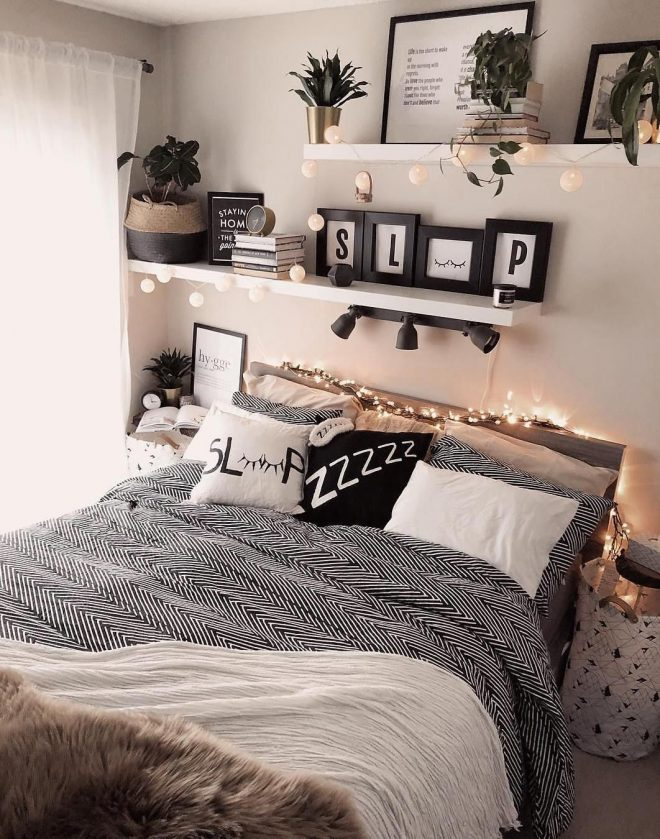 52 warm and romantic bedroom bed decoration ideas