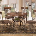 55 ashley furniture round dining table ashley furniture