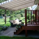 58 canopies and awnings over decks residential deck awnings