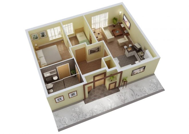 6 coolest simple home plans 3 bedrooms in 3d 3 bedrooms house plans