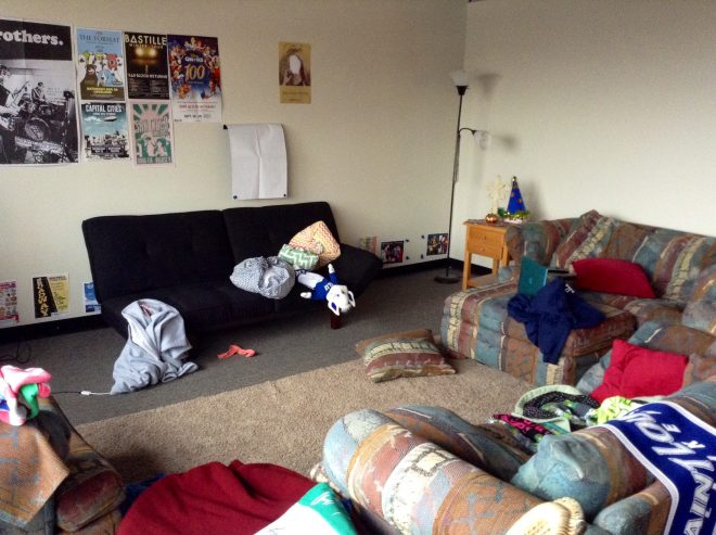 6 places for cleanliness realizations in a college apartment