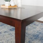 60 square dining table cappuccino 60 x 60 x 30