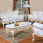 633 aj polrey french provincial style living room set floral fabric
