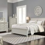 7 piece queen bedroom furniture sets with drawer on bed and