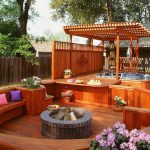 7 sizzling hot tub designs outdoor design landscaping