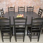 72inch square black and white table in 2019 kitchen square