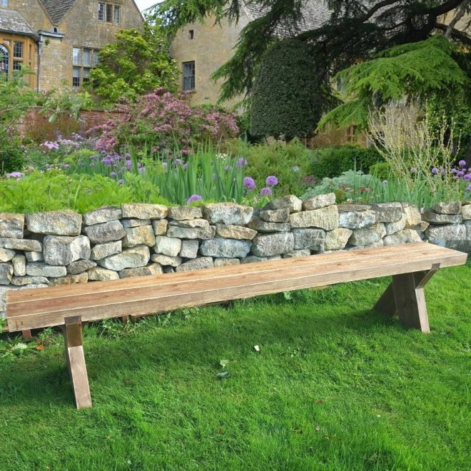 7ft double sleeper garden bench