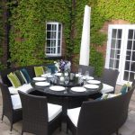 8 person round table dining room the most extendable green