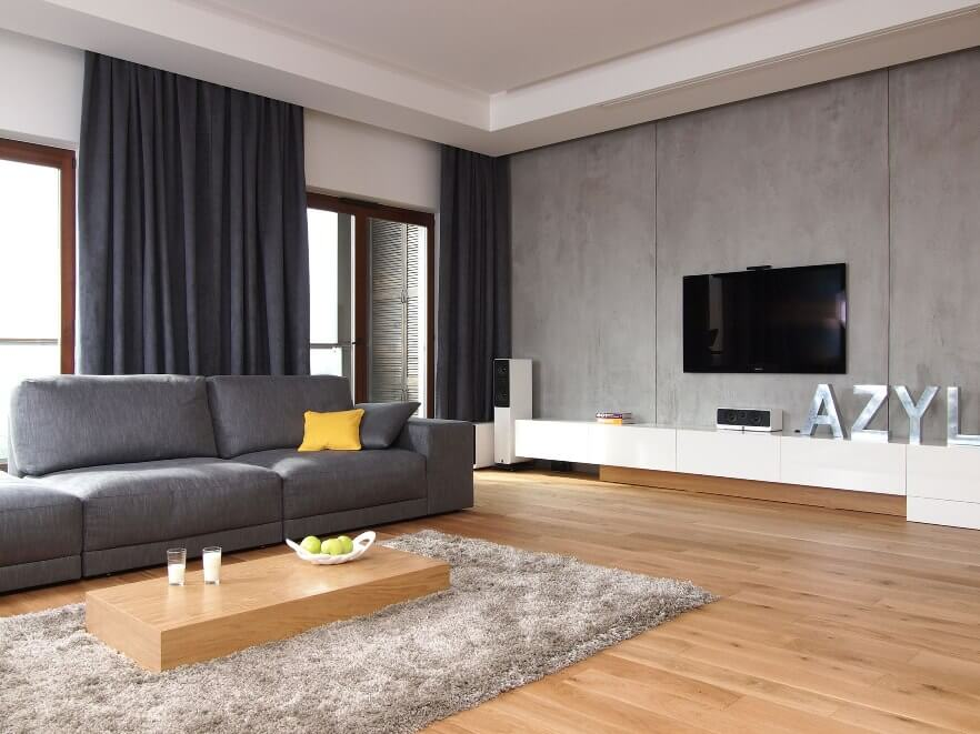 10 Modern Grey Living Room Interior Design Ideas - https ...