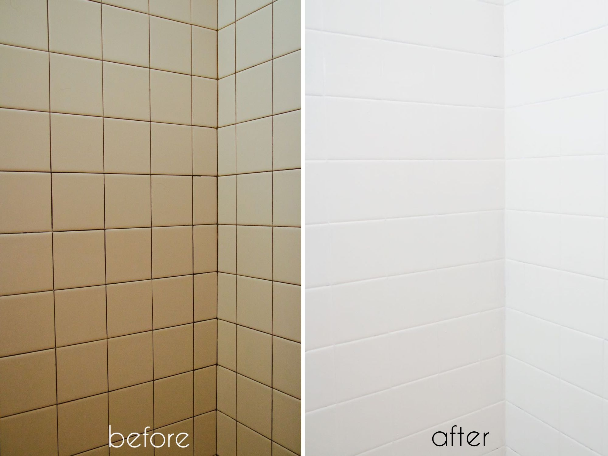 a bathroom tile makeoverwith paint diy pinterest bathroom