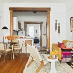 a beautifully curated brooklyn apartment split between work
