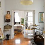 a brooklyn railroad apartment with serious style apartment