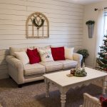 a cozy christmas living room grace and shiplap