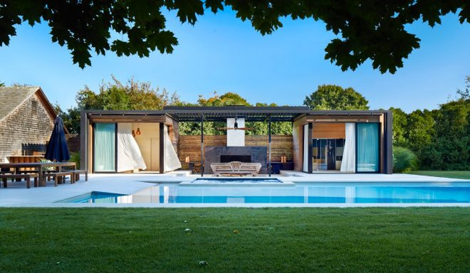 a modern pool house retreat from icrave design milk