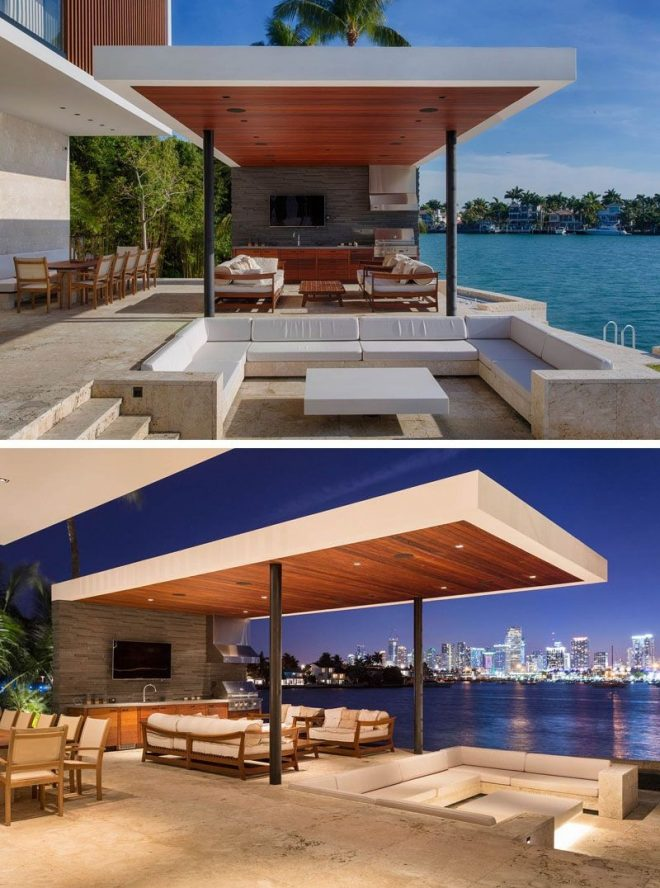 a new modern waterfront home arrives in miami modern