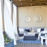 a porch makeover and a relaxing date night on the deck