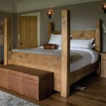 a rustic 4 post bed love it some dreams of home in 2019