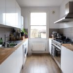 a simple chic small flat in london interior design kitchen