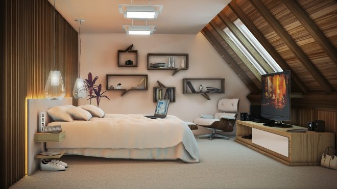 a variety of gorgeous bedroom designs with trendy wooden