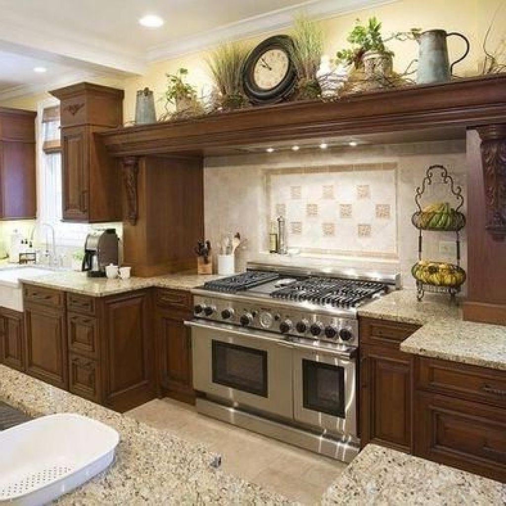 Awesome Kitchen Cabinet Decorating Ideas Opnodes