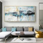 abstract art painting modern wall art canvas pictures large